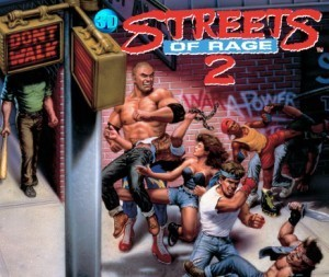 Cover 3D Streets of Rage II