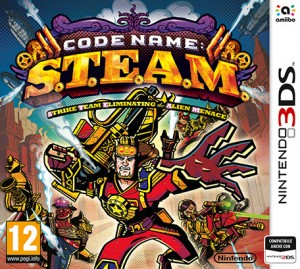 Cover Code Name: S.T.E.A.M.