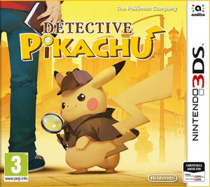 Cover Detective Pikachu