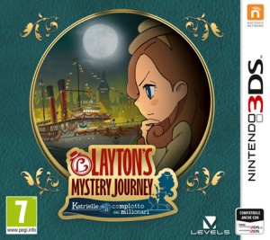 Cover Layton's Mystery Journey: Katrielle and The Millionaires' Conspiracy
