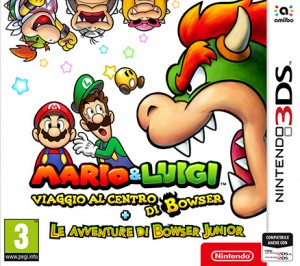 Cover Mario & Luigi: Bowser's Inside Story + Bowser Jr.'s Journey