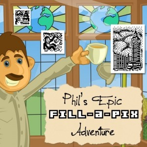Cover Phil's Epic Fill-a-Pix Adventure
