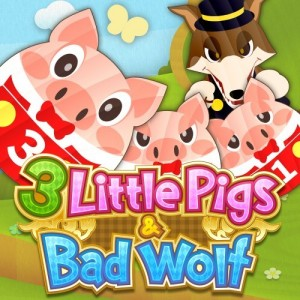 Cover 3 Little Pigs & Bad Wolf