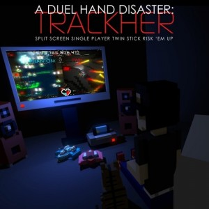 Cover A Duel Hand Disaster: Trackher (Nintendo Switch)