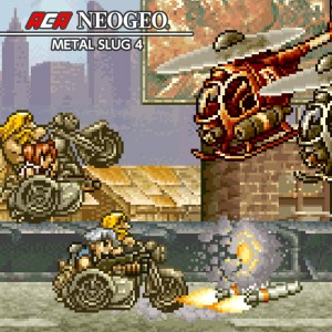 Cover ACA NeoGeo: Metal Slug 4