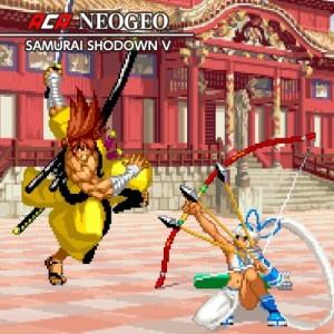 Cover ACA NeoGeo: Samurai Shodown V