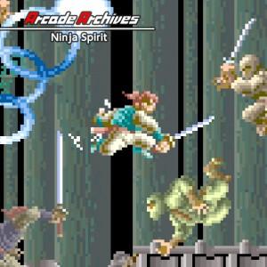 Cover Arcade Archives: Ninja Spirit (Nintendo Switch)