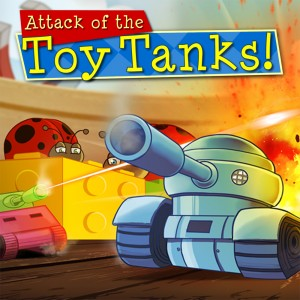 Cover Attack of the Toy Tanks
