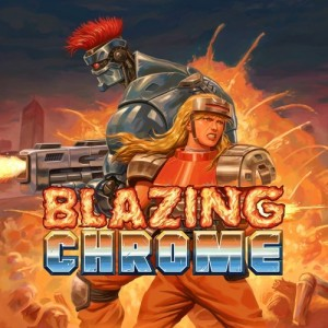 Cover Blazing Chrome (Nintendo Switch)