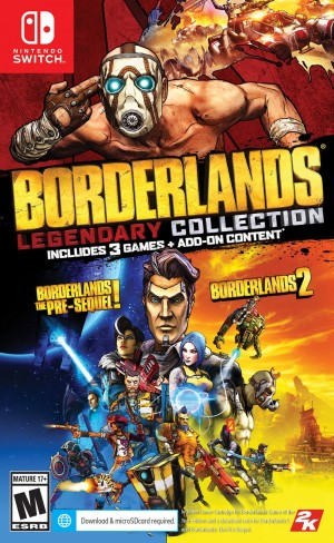Cover Borderlands Legendary Collection (Nintendo Switch)