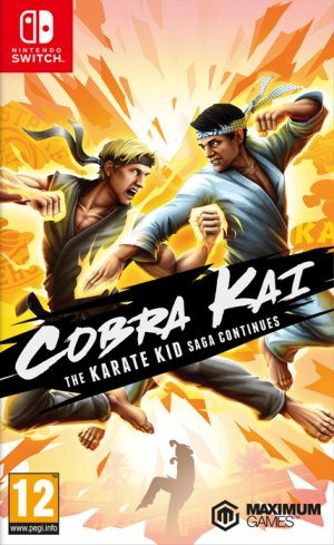Cover Cobra Kai: The Karate Kid Saga Continues (Nintendo Switch)
