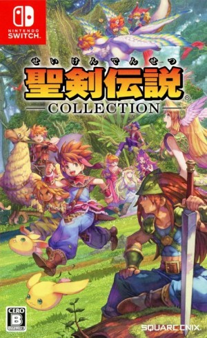Cover Collection of Mana (Nintendo Switch)