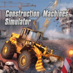 Cover Construction Machines Simulator (Nintendo Switch)