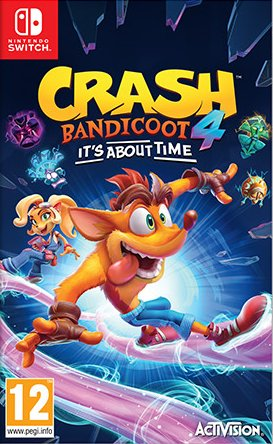 Cover Crash Bandicoot 4: It's About Time