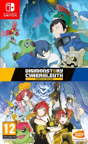 Cover Digimon Story Cyber Sleuth: Complete Edition (Nintendo Switch)