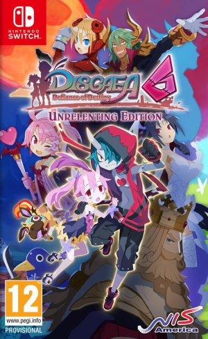 Cover Disgaea 6: Defiance of Destiny