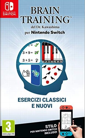 Cover Dr Kawashima's Brain Training for Nintendo Switch (Nintendo Switch)