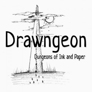 Cover Drawngeon: Dungeons of Ink and Paper