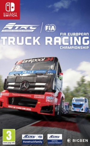 Cover FIA European Truck Racing Championship (Nintendo Switch)