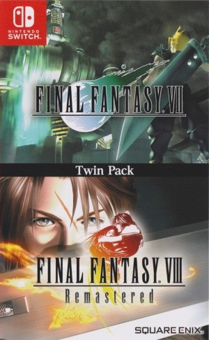 Cover Final Fantasy VII / Final Fantasy VIII Remastered Twin Pack