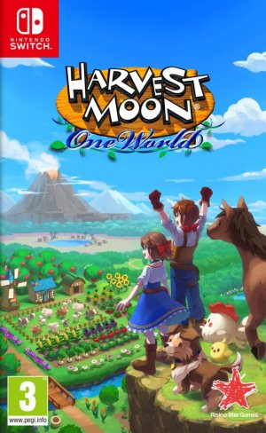 Cover Harvest Moon: One World