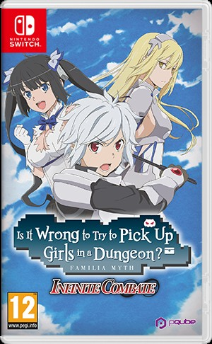 Cover Is It Wrong to Try to Pick Up Girls in a Dungeon? Familia Myth Infinite Combate