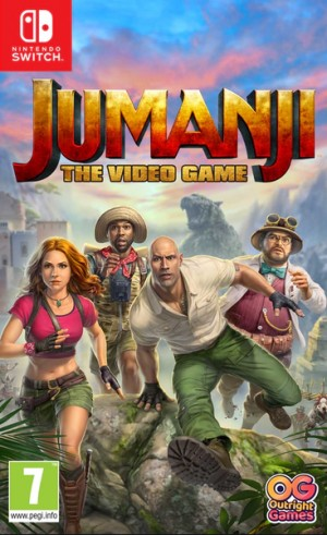 Cover Jumanji: The Video Game (Nintendo Switch)