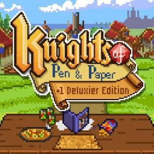 Cover Knights of Pen and Paper +1 Deluxier Edition