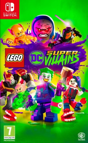 Cover LEGO DC Super-Villains