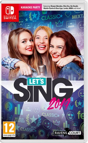 Cover Let's Sing 2019 (Nintendo Switch)