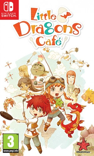 Cover Little Dragons Café