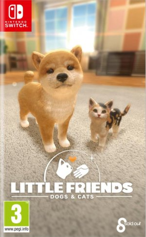 Cover Little Friends: Dogs & Cats