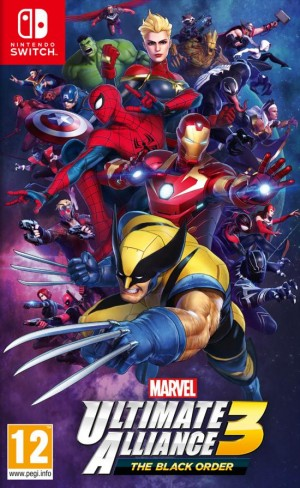 Cover Marvel Ultimate Alliance 3: The Black Order