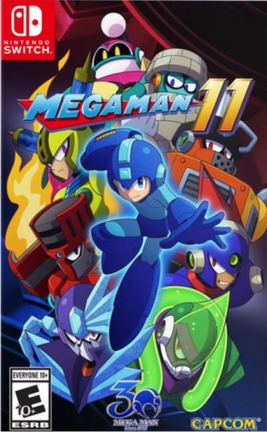 Cover Mega Man 11 (Nintendo Switch)