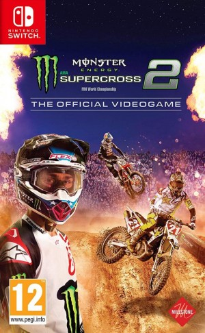 Cover Monster Energy Supercross:  The Official Videogame 2