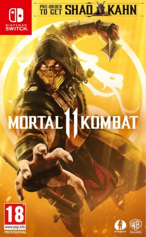 Cover Mortal Kombat 11 (Nintendo Switch)
