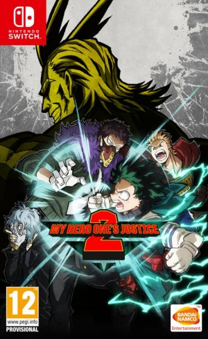 Cover My Hero One's Justice 2