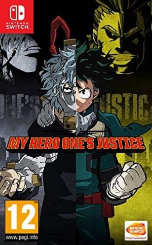 Cover MY HERO ONE'S JUSTICE (Nintendo Switch)