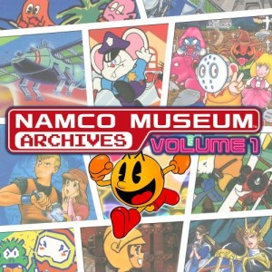 Cover Namco Museum Archives Vol. 1