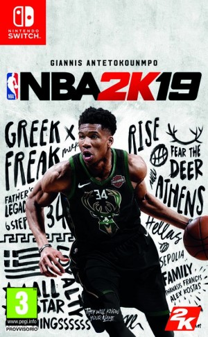 Cover NBA 2K19 (Nintendo Switch)