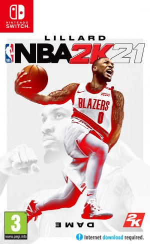 Cover NBA 2K21 (Nintendo Switch)