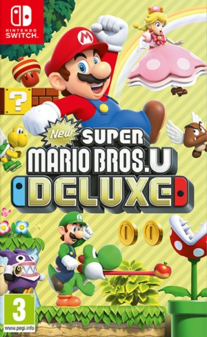 Cover New Super Mario Bros. U Deluxe (Nintendo Switch)