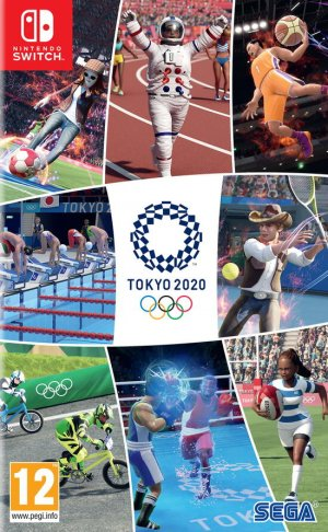 Cover Olympic Games Tokyo 2020: The Official Video Game