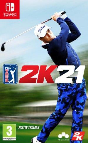 Cover PGA Tour 2K21