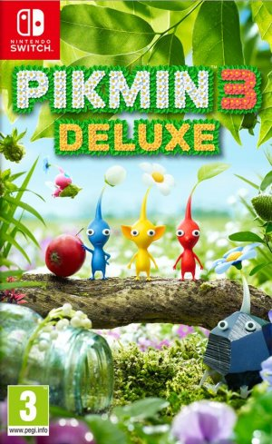 Cover Pikmin 3 Deluxe