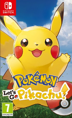 Cover Pokémon: Let's Go, Pikachu!