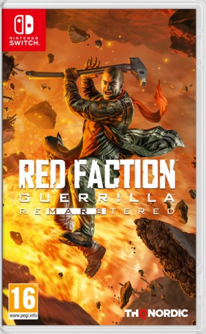 Cover Red Faction Guerrilla Re-Mars-tered