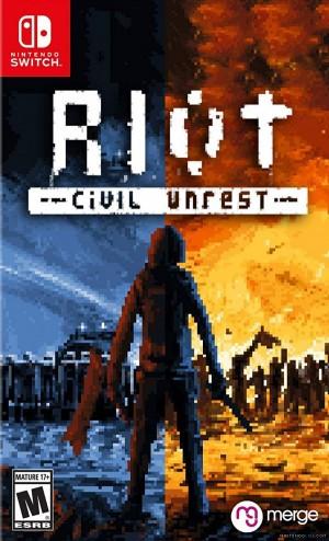 Cover RIOT - Civil Unrest