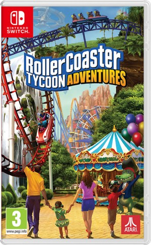 Cover RollerCoaster Tycoon Adventures
