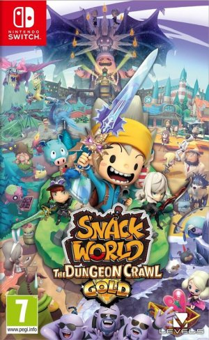 Cover Snack World: The Dungeon Crawl Gold